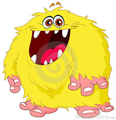 Free Hairy Monster Royalty Free Stock Images - 16160459