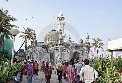 Haji Ali Mosque in Mumbai,India Editorial Stock Photo