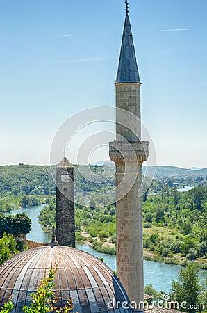 Free Hajji Alija Mosque At Pocitelj, Bosnia And Herzegovina Royalty Free Stock Photo - 78178645