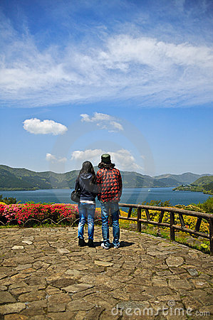 Hakone sightseeing Editorial Stock Photo