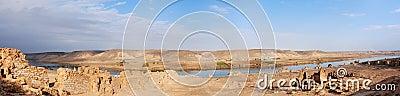 Halabiya on the Euphrates River