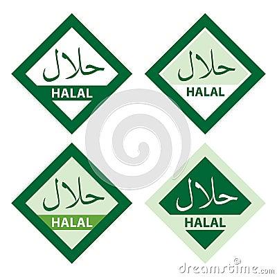 Halal mat