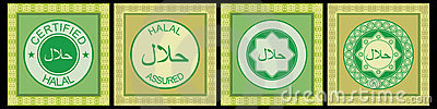 Halal rubber stamp