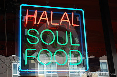 Halal Soul Food Neon