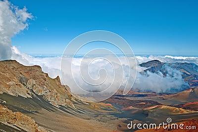 Haleakala Volcano and Crater Maui Hawaii