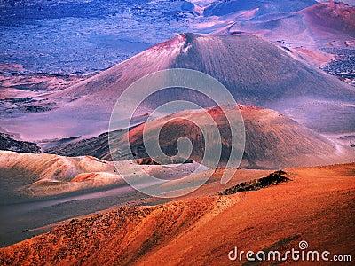 Haleakala volcano Maui Hawaii