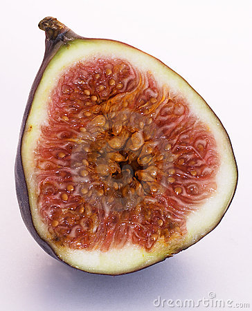 Free Half A Fig Royalty Free Stock Images - 32129