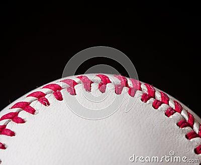 Half baseball background