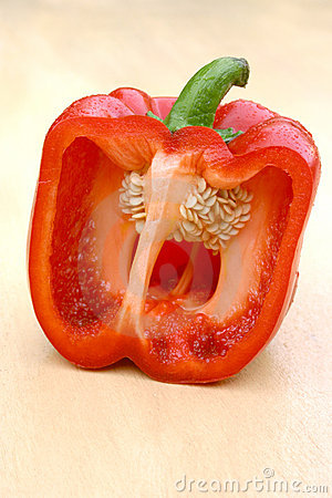 A half bellpepper