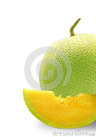 Half Cantaloupe