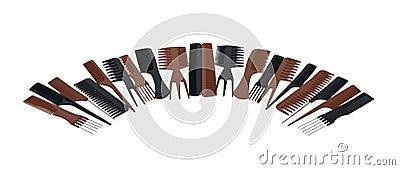 Half Circle of Combs