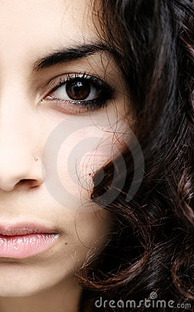 Free Half Face Abstract Stock Image - 326281