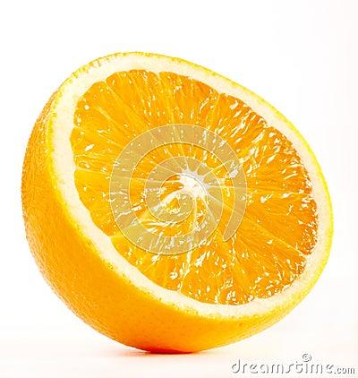 Half of A Fresh Orange