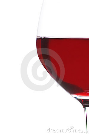 Free Half Glass Of Red Wine Royalty Free Stock Images - 4682279