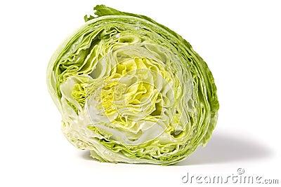 Half iceberg lettuce
