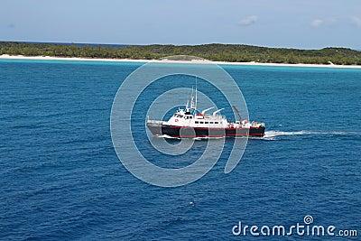 Half Moon Cay in the Bahamas