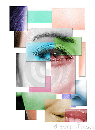 Free Half Of Face Of The Beautiful Woman Royalty Free Stock Image - 5665586