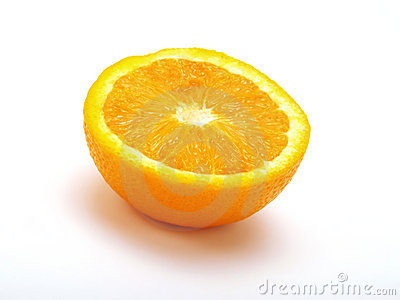 A half orange