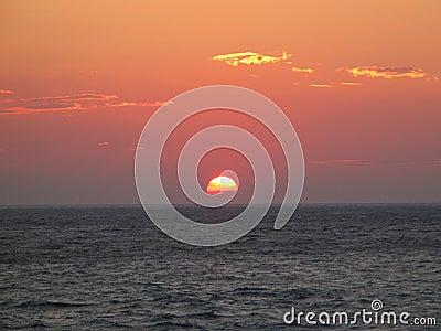 Half-Sunk Sun