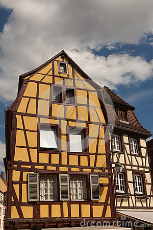 Half-timbered house in Colmar