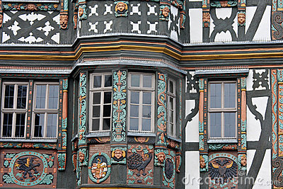 Half Timbered House in Germany