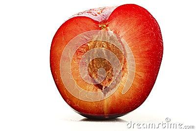 Half wet plum