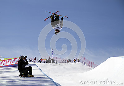 Halfpipe freestyle Editorial Photo