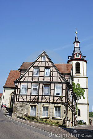 Free Halftimbered House Royalty Free Stock Images - 19754059