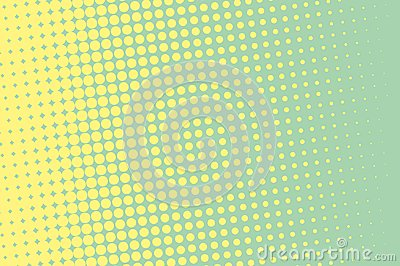 Halftone background. Comic dotted pattern. Pop art retro style Vector Illustration