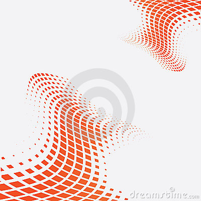 Free Halftone Multicolor Background Vector Illustration Royalty Free Stock Photography - 8342697