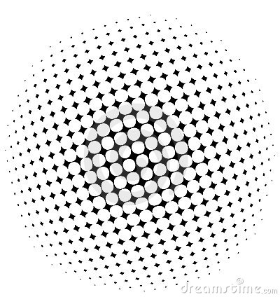 Free Halftone Pattern Royalty Free Stock Images - 10804889