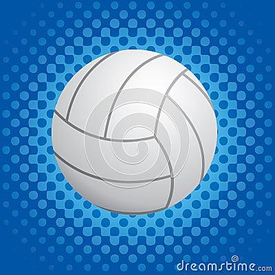 Halftone volleyball