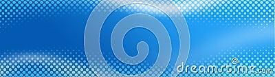 Halftone Web header / Banner