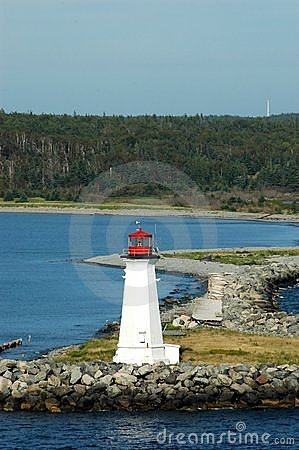 Maugher Beach Lighthouse Nova Scotia