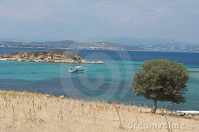 Halkidiki coastline