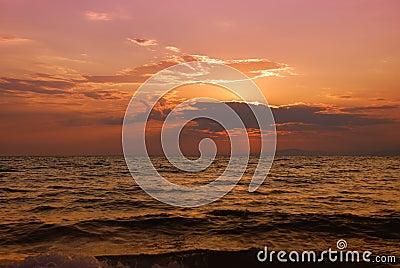 Halkidiki twilight