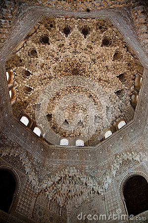 Hall of the Abencerrages at the Alhambra