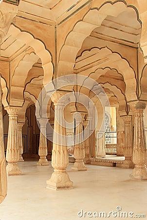 Hall of Ambar.jaipure.