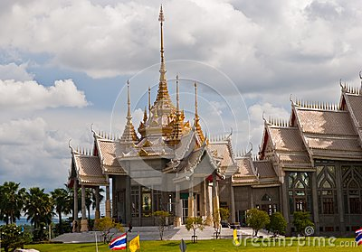 Hall of Arts in Thai temples.