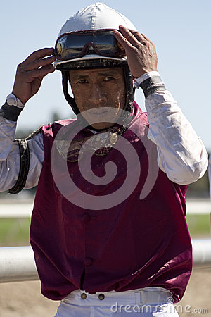 Hall of Fame Jockey Edgar Prado Editorial Photography