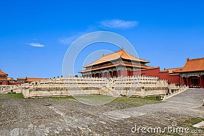 The hall of supreme harmony
