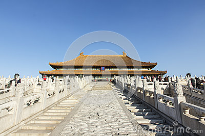 Hall of Supreme Harmony Editorial Photo