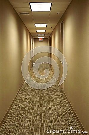 Hall Way aan Uitgang