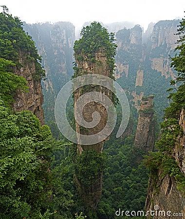 Hallelujah Mountain,zhangjiajie