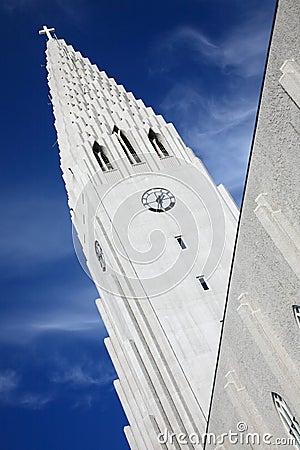 Hallgrimskirkja in Iceland
