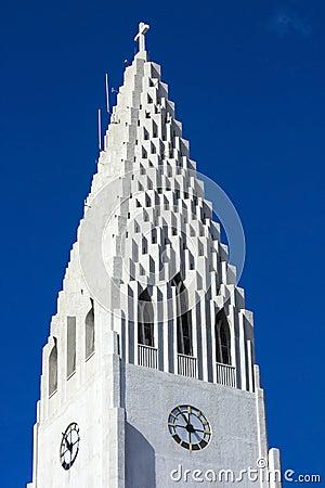 Hallgrimskirkja spire