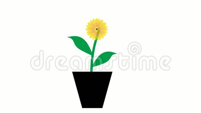 Hallo lente achtergrond met bloemen stock illustratie