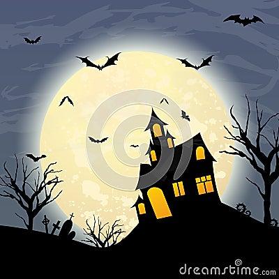 Halloween Cartoon Illustration