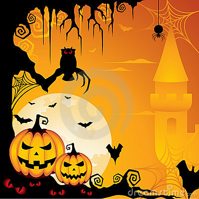 Free Halloween Background Royalty Free Stock Images - 15681409