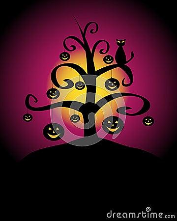 Free Halloween Background Royalty Free Stock Image - 21004006